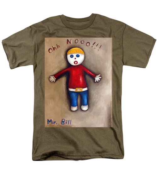 Mr. Bill Men's T-Shirt  (Regular Fit) by Leah Saulnier The Painting Maniac