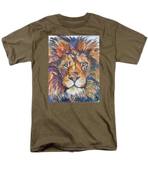 Men's T-Shirt  (Regular Fit) featuring the painting Mr Majestic by P Maure Bausch