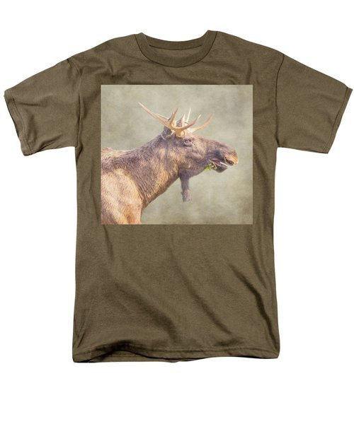 Men's T-Shirt  (Regular Fit) featuring the photograph Mr Moose by Roy McPeak