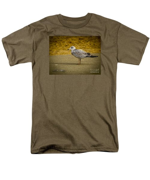 Men's T-Shirt  (Regular Fit) featuring the photograph Mr. Seagull by Melissa Messick
