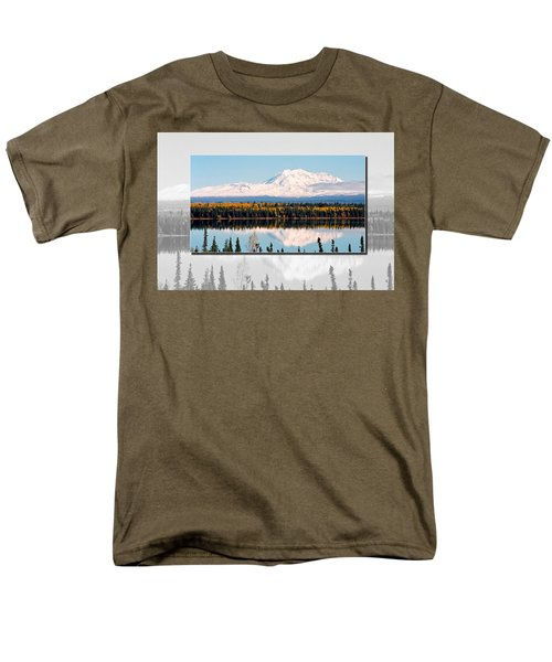 Men's T-Shirt  (Regular Fit) featuring the photograph Mt. Drum - Alaska by Juergen Weiss
