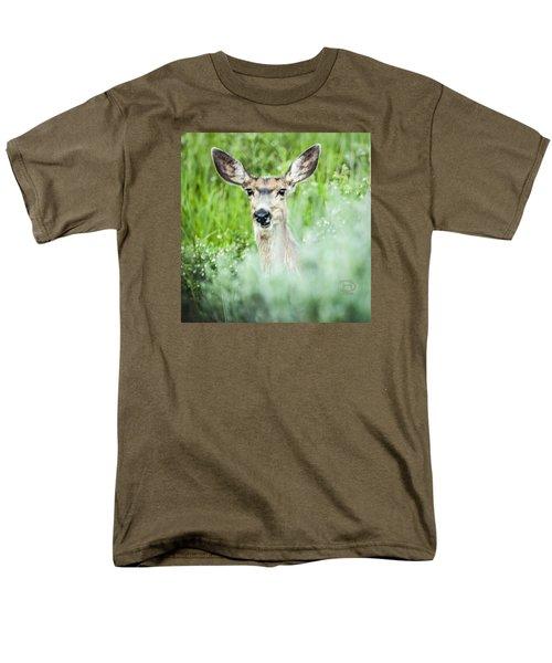 Men's T-Shirt  (Regular Fit) featuring the photograph Muley Mule Deer by Daniel Hebard