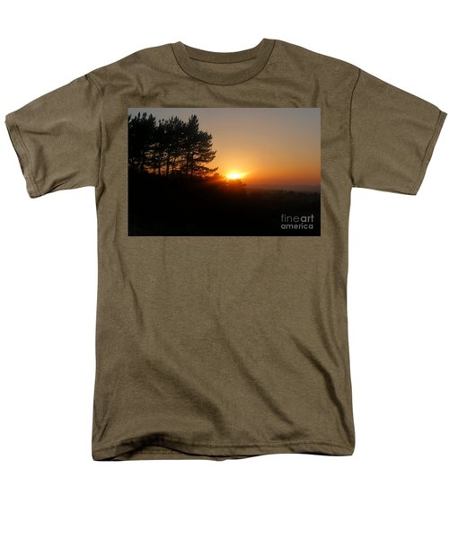 Mulholland Sunset And Silhouette Men's T-Shirt  (Regular Fit) by Nora Boghossian