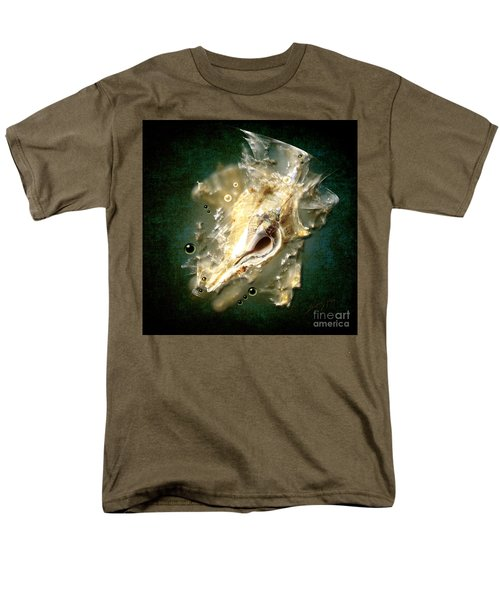 Men's T-Shirt  (Regular Fit) featuring the painting Multidimensional Finds by Alexa Szlavics