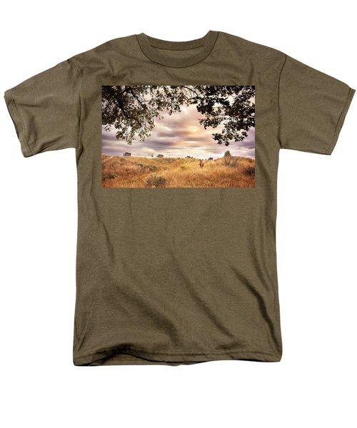 Munson Morning Men's T-Shirt  (Regular Fit) by John Poon