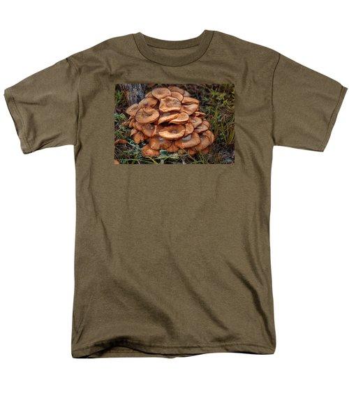 Men's T-Shirt  (Regular Fit) featuring the photograph Mushroom Bouquet by Rick Friedle