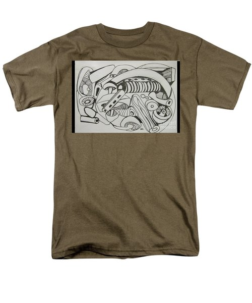 Mushroom Powered Engine 02 - Bellingham - Lewisham Men's T-Shirt  (Regular Fit) by Mudiama Kammoh
