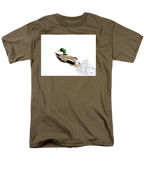 Men's T-Shirt  (Regular Fit) featuring the digital art Music Notes 22 by David Bridburg