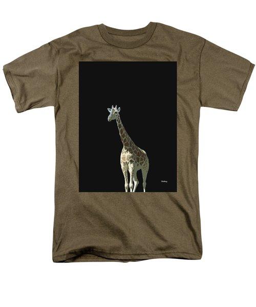 Men's T-Shirt  (Regular Fit) featuring the digital art Music Notes 32 by David Bridburg