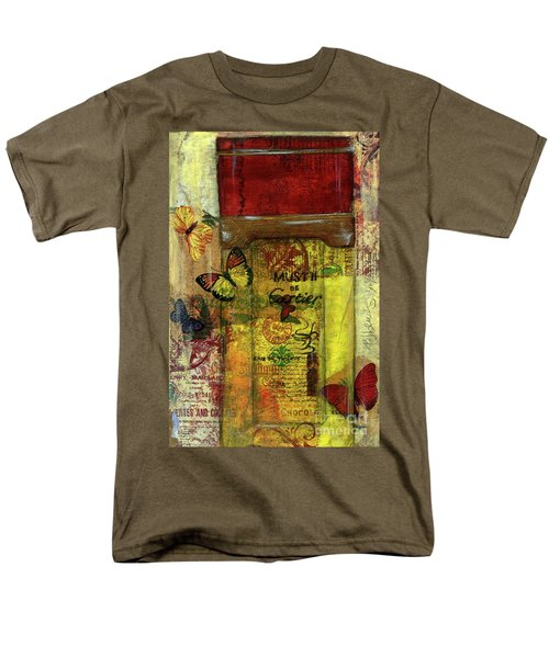 Men's T-Shirt  (Regular Fit) featuring the painting Must De Cartier by P J Lewis