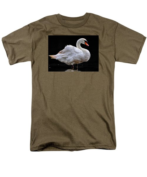 Mute Swan 3 Men's T-Shirt  (Regular Fit) by Brian Stevens