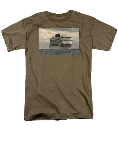 Mv Britannia 2 Men's T-Shirt  (Regular Fit) by David  Hollingworth