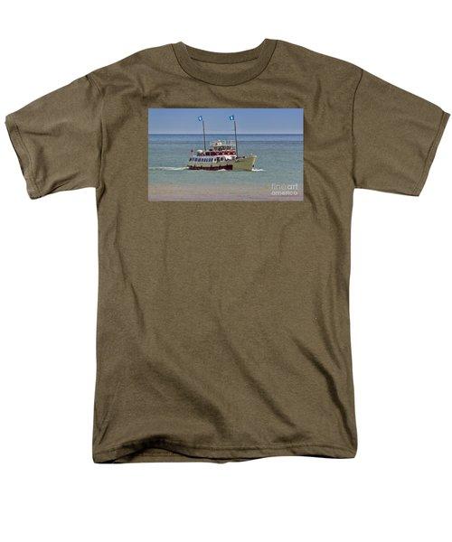 Mv Yorkshire Belle Men's T-Shirt  (Regular Fit) by David  Hollingworth