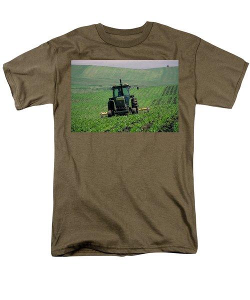 My Big Green Tractor Men's T-Shirt  (Regular Fit) by Garry McMichael