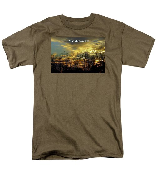 Men's T-Shirt  (Regular Fit) featuring the photograph My Chance by David Norman