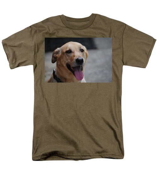 My Dog Ubu Men's T-Shirt  (Regular Fit) by Eric Liller
