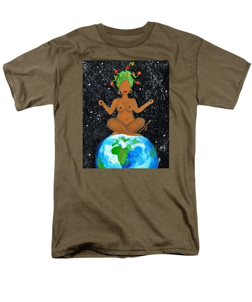 My Own World Men's T-Shirt  (Regular Fit) by Diamin Nicole