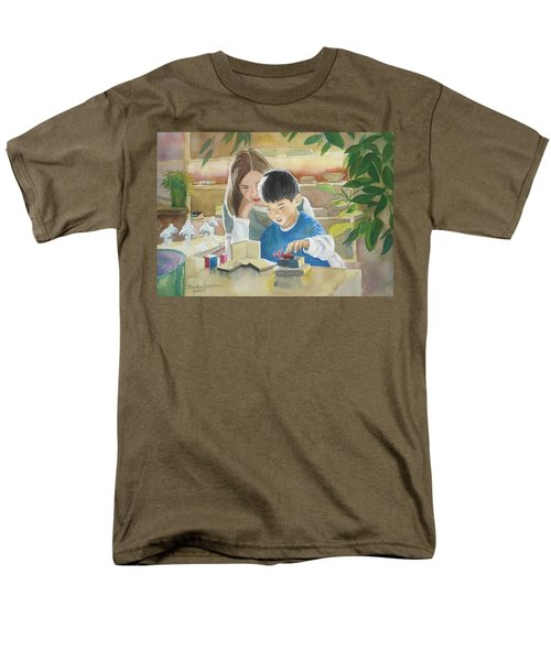 My Work Men's T-Shirt  (Regular Fit) by Marilyn Jacobson