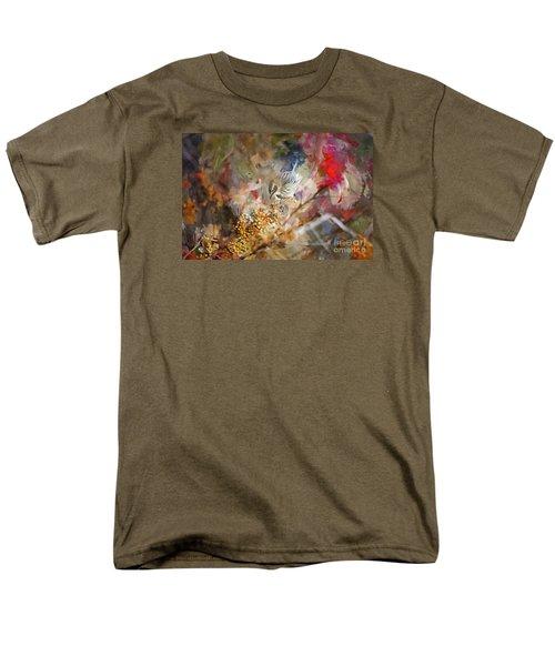 Myrtle Warbler Four Men's T-Shirt  (Regular Fit) by Suzanne Handel