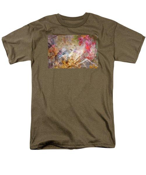 Myrtle Warbler Three Men's T-Shirt  (Regular Fit) by Suzanne Handel