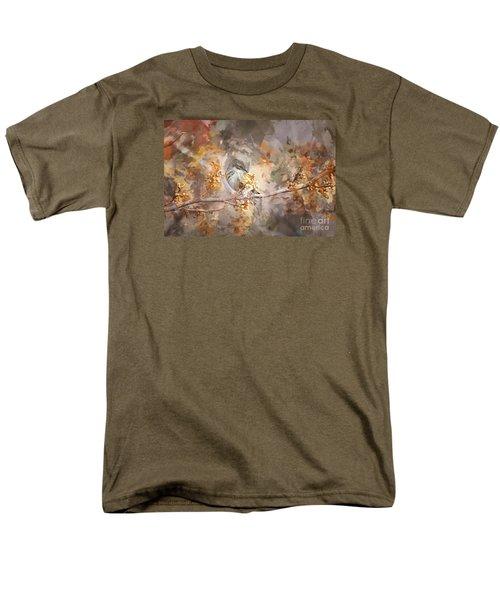 Myrtle Warbler Two Men's T-Shirt  (Regular Fit) by Suzanne Handel