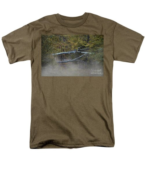 Men's T-Shirt  (Regular Fit) featuring the photograph Mystery In The Fall by Skip Willits