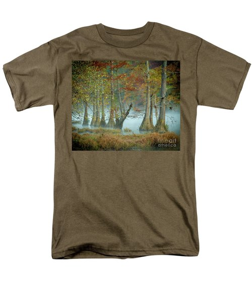 Mystical Mist Men's T-Shirt  (Regular Fit) by Iris Greenwell
