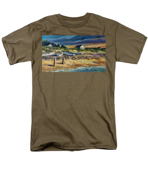 Nantucket Men's T-Shirt  (Regular Fit) by Rick Nederlof