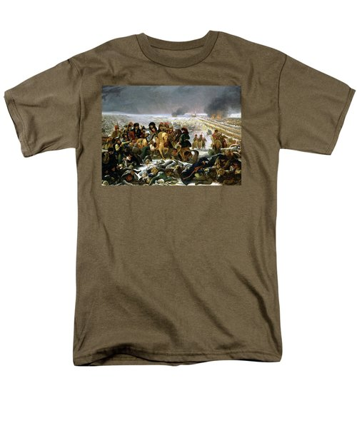 Men's T-Shirt  (Regular Fit) featuring the painting Napoleon At Eylau  by Antoine Jean Gros