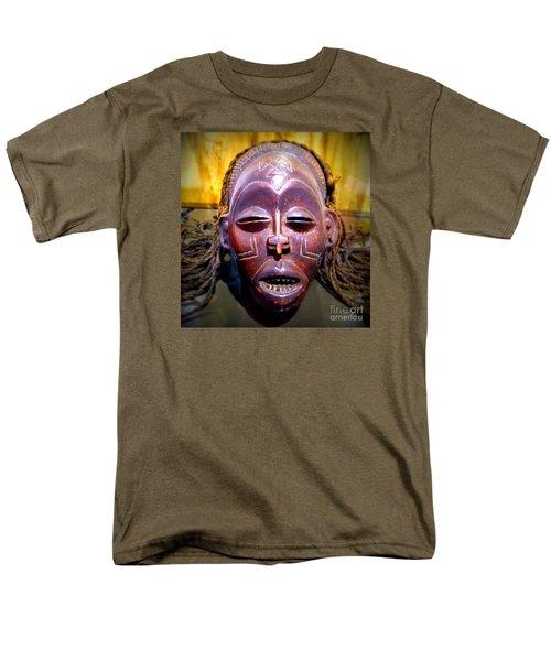 Native Mask Men's T-Shirt  (Regular Fit) by John Potts