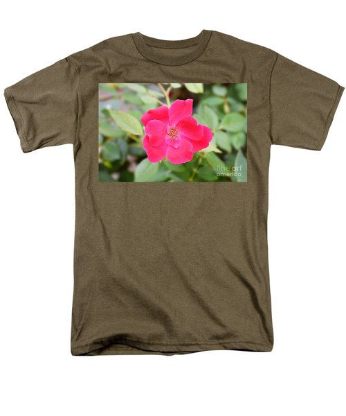 Men's T-Shirt  (Regular Fit) featuring the photograph Nature - Colorful Flower Gifts  by Ray Shrewsberry