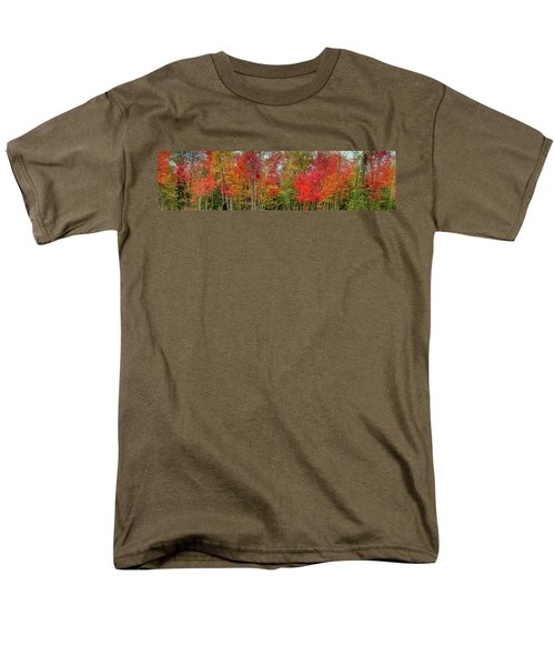 Men's T-Shirt  (Regular Fit) featuring the photograph Natures Fall Palette by David Patterson