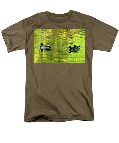Men's T-Shirt  (Regular Fit) featuring the photograph Nature's Impressionist Art No.3 by Janice Adomeit