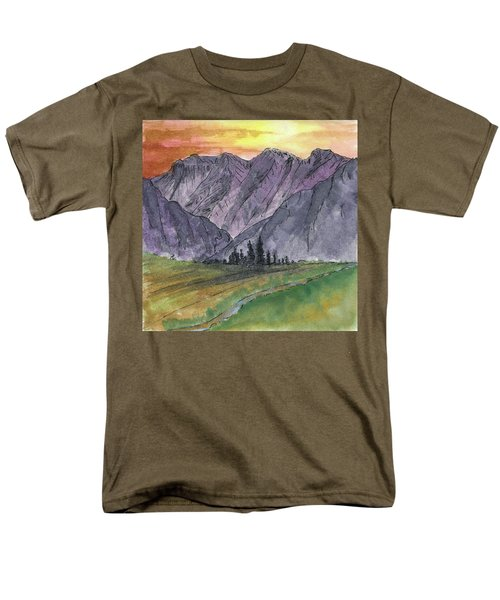Near Canyon Entrance Men's T-Shirt  (Regular Fit) by R Kyllo