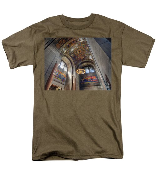 Men's T-Shirt  (Regular Fit) featuring the photograph Nebraska State Capitol by Art Whitton