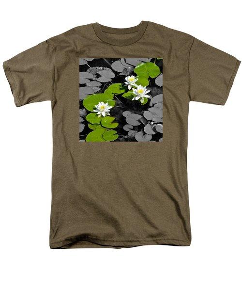 Men's T-Shirt  (Regular Fit) featuring the photograph Nenuphar by Gina Dsgn