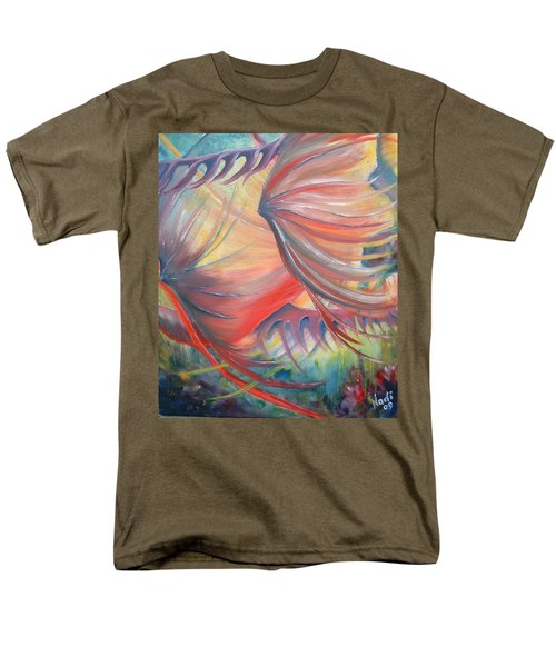 Men's T-Shirt  (Regular Fit) featuring the painting Neptune's View by Renate Nadi Wesley