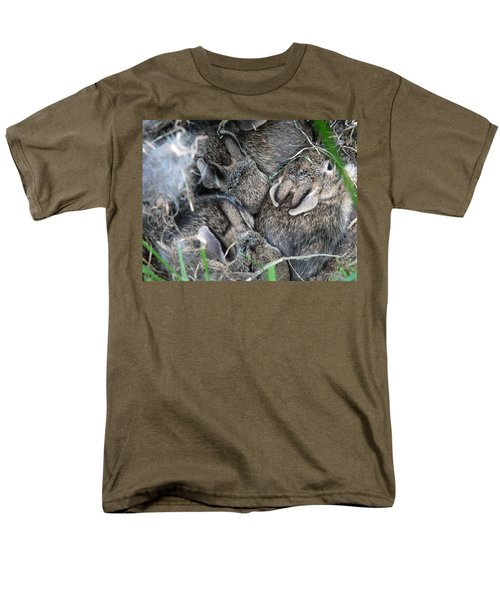 Men's T-Shirt  (Regular Fit) featuring the photograph Nestled In Their Den by Laurel Best
