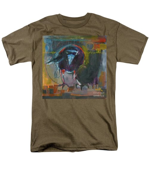 Men's T-Shirt  (Regular Fit) featuring the painting Nevermore by Ron Stephens
