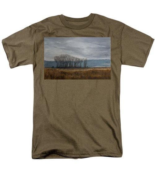 New Buffalo Marsh Men's T-Shirt  (Regular Fit) by John Hansen