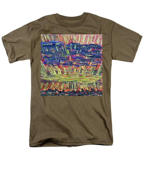 New Jersey Sunset Men's T-Shirt  (Regular Fit) by Vadim Levin