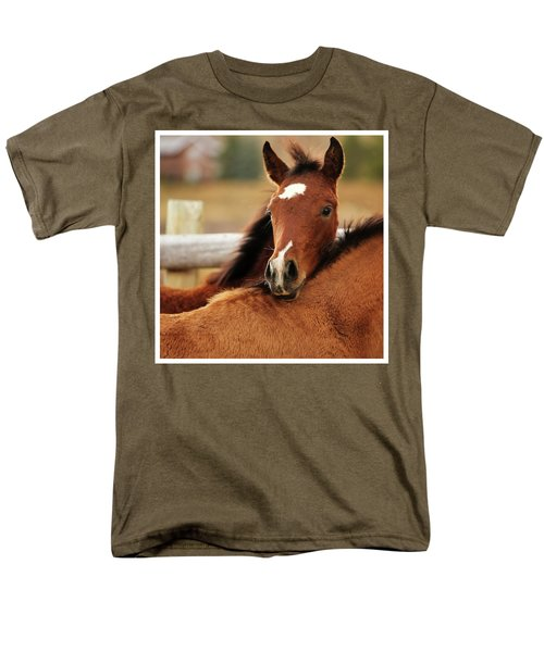 Men's T-Shirt  (Regular Fit) featuring the photograph New Life by Sharon Jones