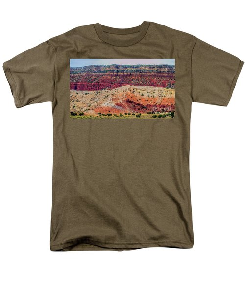 New Mexico Hillside Men's T-Shirt  (Regular Fit) by Gina Savage
