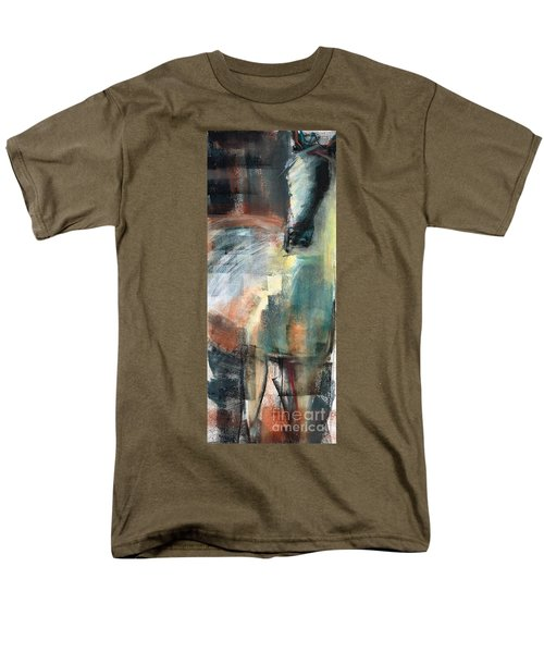 New Mexico Horse Three Men's T-Shirt  (Regular Fit) by Frances Marino