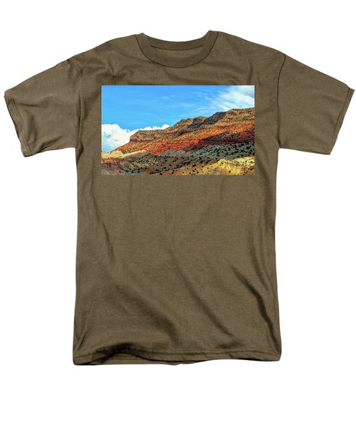 New Mexico Landscape Men's T-Shirt  (Regular Fit) by Gina Savage
