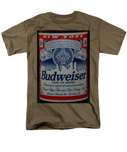New York Bud Men's T-Shirt  (Regular Fit)