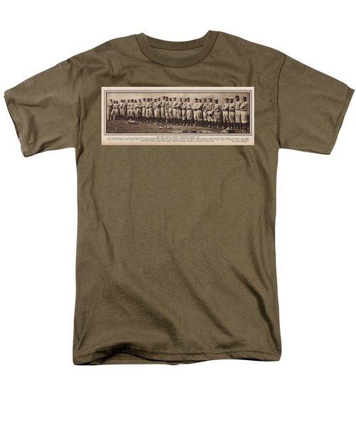Men's T-Shirt  (Regular Fit) featuring the photograph New York Yankees 1916 by Daniel Hagerman