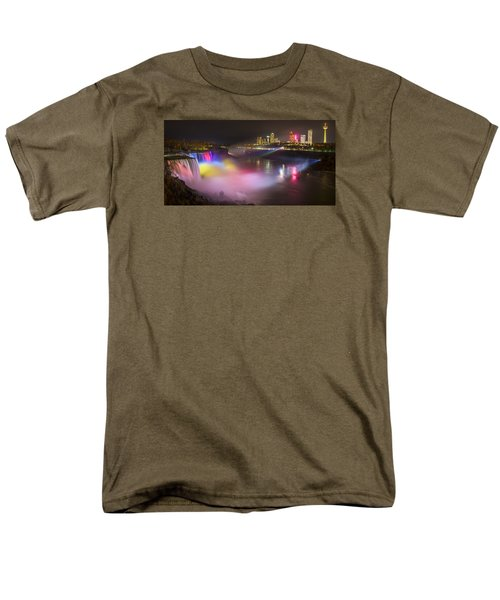 Niagara Rainbow Men's T-Shirt  (Regular Fit) by Mark Papke