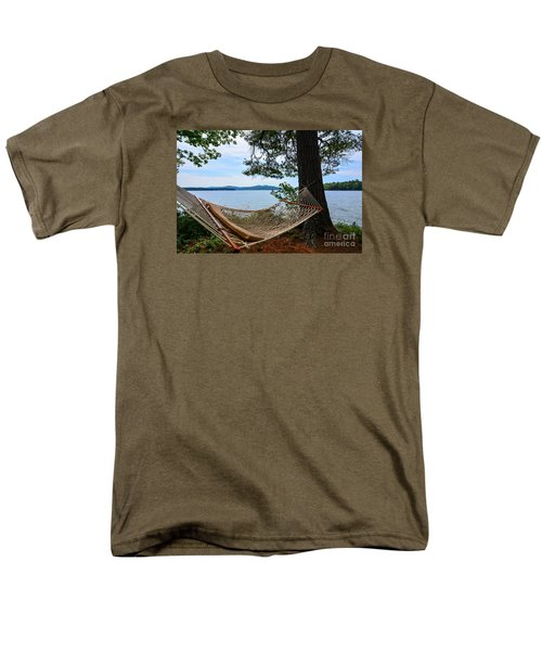 Nice Spot For A Nap Men's T-Shirt  (Regular Fit) by Mim White