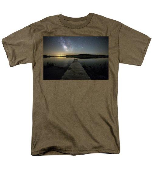 Night On The Dock Men's T-Shirt  (Regular Fit)